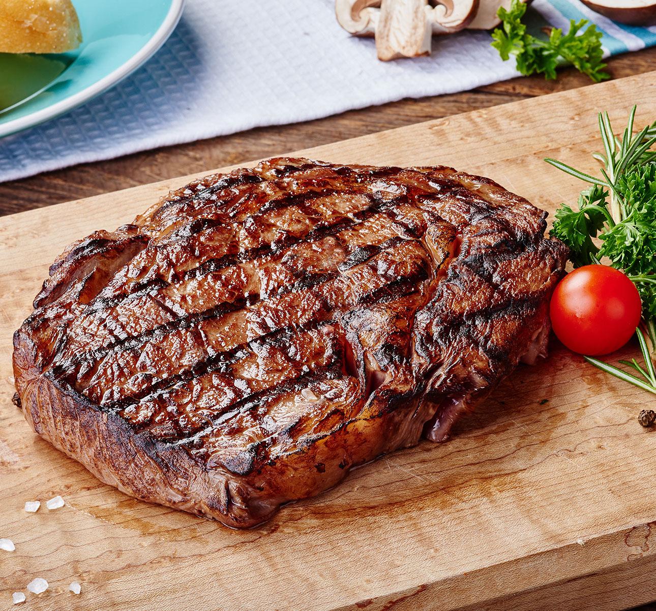 rib eye steak 2 per pkg limited quantity buffalo run ranch